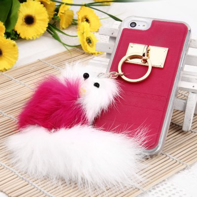 Protective Case for iPhone 5 / 5C / 5S with Fox Pendent