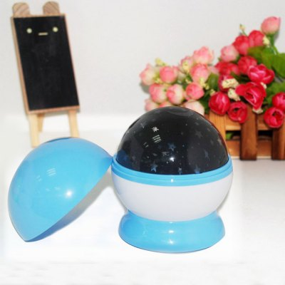 USB Rotating LED Moon and Star Projector