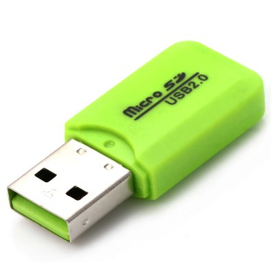 Small Cool Ice Type USB 2.0 Micro SD TF Card ReaderMemory Cards<br>Small Cool Ice Type USB 2.0 Micro SD TF Card Reader<br><br>Interface: USB2.0<br>Reader Type: USB Flash Drive<br>Compatible: Windows XP, Windows 7, Windows Vista, Windows 98, MAC OS, Windows 98SE, Linux, Windows ME, Windows 2000<br>Optional Color: Blue, Orange, Purple, Yellow, Black, Green<br>Product Weight: 0.003 kg<br>Package Weight: 0.034 kg<br>Product Size (L x W x H): 4 x 1.7 x 0.7 cm / 1.57 x 0.67 x 0.28 inches<br>Package Size (L x W x H): 11.4 x 7 x 1.7 cm / 4.48 x 2.75 x 0.67 inches<br>Package Contents: 1 x Small Cool Ice Type USB 2.0 Micro SD TF Card Reader