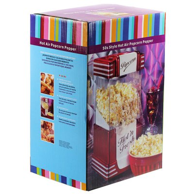30Z Electric Popcorn Popper Machine High Temperature Resistant PC Popcorn MakerClassic Toys<br>30Z Electric Popcorn Popper Machine High Temperature Resistant PC Popcorn Maker<br><br>Type: Others<br>Age: Adults<br>Package Weight   : 1.78 kg<br>Package Size (L x W x H)  : 23.5 x 20 x 40 cm / 9.24 x 7.86 x 15.72 inches<br>Package Contents: 1 x Popcorn Popper, 1 x English User Manual