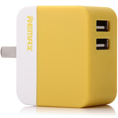 REMAX Quick Charge US Plug Dual USB Ports Power Adapter