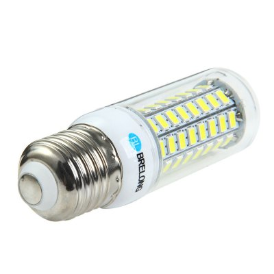 BRELONG E27 12W SMD 5730 1200Lm LED Corn LightCorn Bulbs<br>BRELONG E27 12W SMD 5730 1200Lm LED Corn Light<br><br>Available Light Color: White,Warm White<br>Brand: BRELONG<br>CCT/Wavelength: 3000-3500K,6000-6500K<br>Emitter Types: SMD 5730<br>Features: Long Life Expectancy, Energy Saving<br>Function: Studio and Exhibition Lighting, Commercial Lighting, Home Lighting<br>Holder: E27,E14,GU10,G9,B22<br>Luminous Flux: 1200Lm<br>Output Power: 12W<br>Package Contents: 1 x BRELONG LED Corn Bulb<br>Package size (L x W x H): 11.5 x 4.5 x 4.5 cm / 4.52 x 1.77 x 1.77 inches<br>Package weight: 0.060 kg<br>Product size (L x W x H): 10 x 3 x 3 cm / 3.93 x 1.18 x 1.18 inches<br>Product weight: 0.032 kg<br>Sheathing Material: Plastic<br>Total Emitters: 72<br>Type: Corn Bulbs<br>Voltage (V): AC 220-240