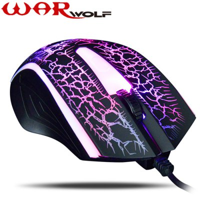 Warwolf M-01 4D Wired USB 2.0 Gaming Mouse