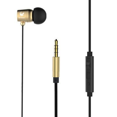 Old Shark 3.5mm Stereo In-ear Earphones with Mic
