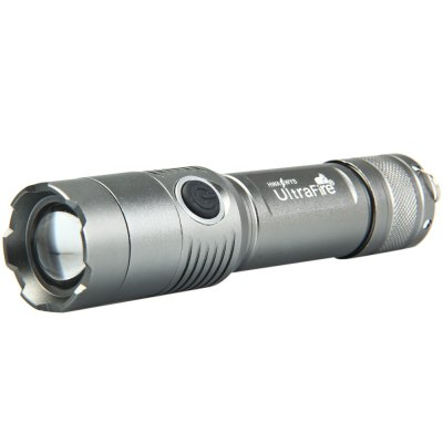 Фотография Cree XML T6 Water Resistant Zooming EDC LED Flashlight Torch Set
