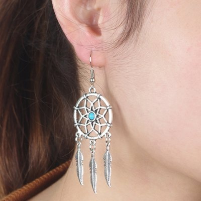 Pair of Fashionable Hollow Out Feather Tassel Earrings For WomenEarrings<br>Pair of Fashionable Hollow Out Feather Tassel Earrings For Women<br><br>Earring Type: Drop Earrings<br>Gender: For Women<br>Style: Trendy<br>Shape/Pattern: Others<br>Length: 7.6CM<br>Weight: 0.05KG<br>Package Contents: 1 x Earring(Pair)