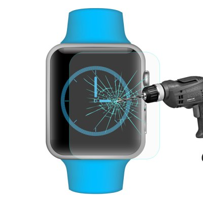 Hat-Prince Tempered Glass Screen Protective Film for Apple Watch 42mm