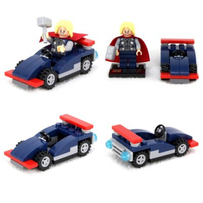 Lepin Thor Figure Vehicle Set Building Block