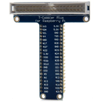 Practical DIY T Type 40 - Pin GPIO Expansion Board Works with Raspberry PI B+