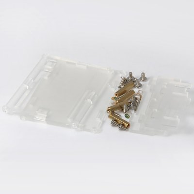 Transparent Clear Acrylic Case Shell Kits for Arduino UNO R3