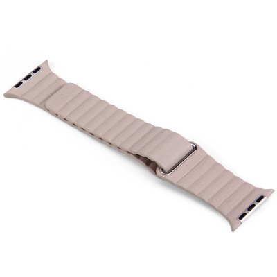 Genuine Leather Magnetic Watchband for Apple Watch 38mmApple Watch Bands<br>Genuine Leather Magnetic Watchband for Apple Watch 38mm<br><br>Type: Watchband<br>Material: Genuine Leather<br>Color: Brown, Gray, Black, Red, Blue<br>Function: Replaceable Watchband for Apple Watch / iWatch<br>Features: Fashionable and classic<br>Product Weight: 0.019 kg<br>Package Weight: 0.040 kg<br>Product Size: 19.5 x 3.4 x 0.02 cm / 7.66 x 1.34 x 0.01 inches<br>Package Size: 15 x 9 x 0.5 cm / 5.90 x 3.54 x 0.20 inches<br>Package Contents: 1 x Watchband