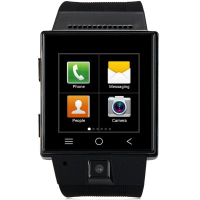 ZGPAX S55 Smartwatch PhoneSmart Watch Phone<br>ZGPAX S55 Smartwatch Phone<br><br>Brand: ZGPAX<br>Type: Watch Phone<br>OS: Android 4.4<br>CPU: MTK6572<br>Cores: 1.2GHz,Dual Core<br>RAM: 512MB<br>ROM: 4GB<br>External Memory: TF card up to 32GB (not included)<br>Wireless Connectivity: 3G,Bluetooth 4.0,GPS,GSM,WiFi<br>WIFI: 802.11b/g/n wireless internet<br>Network type: GSM+WCDMA<br>Frequency: GSM 850/900/1800/1900MHz WCDMA 850/1900/2100MHz<br>Bluetooth: Yes<br>Screen type: Capacitive<br>Screen size: 1.54 inch<br>Screen resolution: 240 x 240<br>Camera type: Single camera<br>Front camera: 2.0MP<br>SIM Card Slot: Single SIM,Single Standby<br>TF card slot: Yes<br>Micro USB Slot: Yes<br>Picture format: BMP,GIF,JPEG,PNG<br>Music format: AAC,AMR,MP3,OGG,WAV<br>Video format: 3GP,FLV,MP4,RMVB<br>Languages: English, Czech, German, Spanish, French, Italian, Dutch, Portuguese, Turkish, Greek, Russian, Arabic, Thai, Simplified/Traditional Chinese<br>Additional Features: 3G,Alarm,Bluetooth,Browser,Calculator...,Calendar,FM,GPS,MP3,Sound Recorder,Wi-Fi<br>Cell Phone: 1<br>Battery: 1 x 470mAh Battery<br>USB Cable: 1<br>Earphones: 1<br>Product size: 6.20 x 4.00 x 1.50 cm / 2.44 x 1.57 x 0.59 inches<br>Package size: 12.00 x 8.20 x 6.50 cm / 4.72 x 3.23 x 2.56 inches<br>Product weight: 0.061 kg<br>Package weight: 0.236 kg