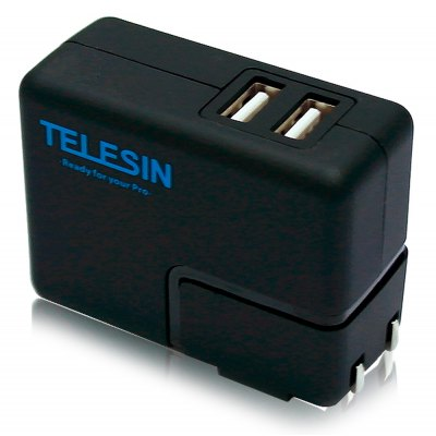 TELESIN Sport Camcorder Power Charger