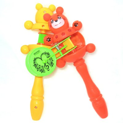 Animal ABS Handheld BellClassic Toys<br>Animal ABS Handheld Bell<br><br>Type: Intelligence toys<br>Age: 3 Years+<br>Material: ABS<br>Design Style: Other<br>Features: Educational<br>Puzzle Style: Other<br>Small Parts : No<br>Washing : No<br>Applicable gender: Unisex<br>Package Weight   : 0.108 kg<br>Package Size (L x W x H)  : 21 x 12.8 x 5 cm / 8.25 x 5.03 x 1.97 inches<br>Package Contents: 1 x Handheld Bell