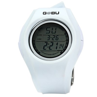 ФОТО Gobu 1583 Water Resistance Men LED Sports Watch