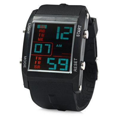 Gobu 1585 Men LED Sports Watch