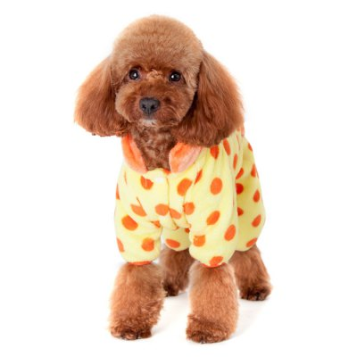 Wave Point Back Pocket Style Homewear ClothesDog Clothing &amp; Shoes<br>Wave Point Back Pocket Style Homewear Clothes<br><br>For: Dogs<br>Type: Cloth<br>Material: Coral Fleece<br>Functions: Adjustable<br>Size: M, L, XL, XXL, S<br>Season: Autumn, Winter<br>Color: Black, Pink, Blue, Orange<br>Product weight   : 0.078 kg<br>Package weight   : 0.150 kg<br>Package size (L x W x H)  : 24 x 13 x 6.5 cm / 9.43 x 5.11 x 2.55 inches<br>Package Contents: 1 x Pet Dog Cloth