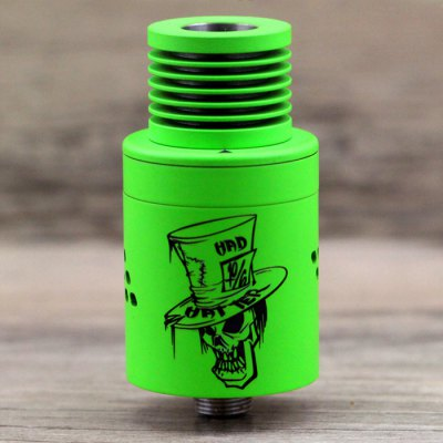 Original ADVKEN Mad Hatter V2 RDARebuildable Atomizers<br>Original ADVKEN Mad Hatter V2 RDA<br><br>Type: Rebuildable Drippers, Rebuildable Atomizer<br>Rebuildable Atomizer: RBA, RDA<br>Brand: ADVKEN<br>Model: Mad Hatter V2 RDA<br>Available Color : Multi-Color<br>Material  : Stainless steel<br>Thread Type: 510<br>Overall Diameter: 22mm<br>Coil Quantity: Octuple coil<br>Product weight  : 0.050 kg<br>Package weight  : 0.150 kg<br>Product size (L x W x H)  : 2.2 x 2.2 x 4.6  cm / 0.86 x 0.86 x 1.81 inches<br>Package size (L x W x H)  : 8 x 6.5 x 3.6 cm / 3.14 x 2.55 x 1.41 inches<br>Package Contents: 1 x ADVKEN Mad Hatter V2 RDA, 1 x 510 Drip Tip, 1 x 510 Drip Tip Adapter, 1 x Glasses Cloth