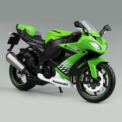 MAISTO ZX - 10R 1 : 12 Motorcycle ModelMovies &amp; TV  Dolls<br>MAISTO ZX - 10R 1 : 12 Motorcycle Model<br><br>Brand: MAISTO<br>Age: Above 14 years old<br>Material: Metal, ABS<br>Feature Type: Japanese<br>Figure Height: 17.5cm / 6.8 Inch<br>Package Weight   : 0.25 kg<br>Package Size (L x W x H)  : 25 x 10 x 10 cm / 9.83 x 3.93 x 3.93 inches<br>Package Contents: 1 x Motorcycle Model