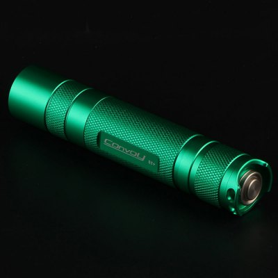 Convoy S2+ L2 U2 - 1A 490LM 7135 LED FlashlightLED Flashlights<br>Convoy S2+ L2 U2 - 1A 490LM 7135 LED Flashlight<br><br>Brand: Convoy<br>Model: S2+<br>Lamp Beads: Cree XM-L2 U2<br>Beads Number: 1<br>Luminous Flux: 490Lm<br>Circuitry: 2800mA (7135 x 8)<br>Color temperature: T6-4C (4300-4500K), U2-1A (6500-7000K )<br>Switch Type: Reverse Clicky<br>Switch Location: Tail Cap<br>Feature: Lightweight, Lanyard<br>Function: Walking, Night Riding, Household Use, Camping, EDC, Hiking<br>Battery Type: 18650<br>Battery Quantity: 1 x 18650 battery (not included)<br>Mode: 2 Kind of Mode (1. 3 Modes: Low 5%; Mid 40%; High 100%; 2. 5 Modes: Low 5%; Mid 40%; High 100%; Strobe; SOS)<br>Mode Memory: Yes<br>Power Source: Battery<br>Reflector: Aluminum Textured Orange Peel Reflector<br>Lens: Toughened Ultra-clear Glass Lens with Anti-reflective Coating<br>Beam Distance: 50-100m<br>Body Material: Aluminium Alloy<br>Available Light Color: Cool White, Neutral White<br>Available Color: Green, Red, Blue<br>Max.: 3h<br>Product weight: 0.070 kg<br>Package weight: 0.13 kg<br>Product size (L x W x H): 2.41 x 2.41 x 11.76 cm / 0.95 x 0.95 x 4.62 inches<br>Package size (L x W x H): 3.5 x 3.5 x 13 cm / 1.38 x 1.38 x 5.11 inches<br>Package Contents: 1 x Convoy S2+ LED Flashlight, 1 x Lanyard