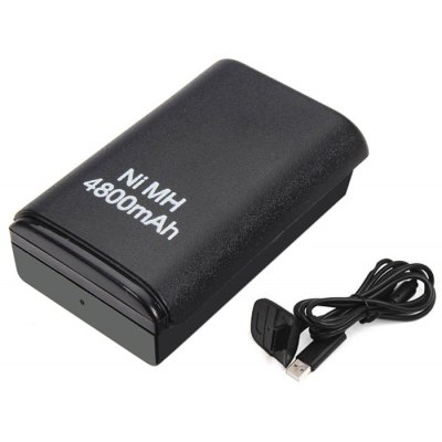4800mAh Repalcement Battery Kit for XBOX 360 Controller