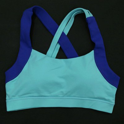 Cross Straps Yoga Sports Bra