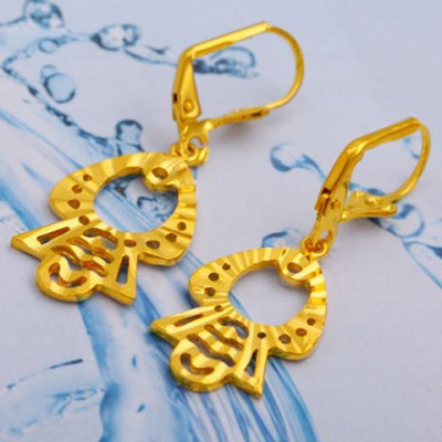 Pair of Noble Hollow Out Figure Shape Earrings For WomenEarrings<br>Pair of Noble Hollow Out Figure Shape Earrings For Women<br><br>Earring Type: Drop Earrings<br>Gender: For Women<br>Style: Trendy<br>Shape/Pattern: Figure<br>Length: 2.1CM<br>Weight: 0.052KG<br>Package Contents: 1 x Earring(Pair)