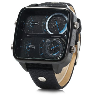 Shiweibao J8099 Dual Movt Date Function Men Quartz WatchMens Watches<br>Shiweibao J8099 Dual Movt Date Function Men Quartz Watch<br><br>Brand: Shiweibao<br>Watches categories: Male table<br>Watch style: Fashion<br>Style elements: Big dial<br>Watch color: Brown, Black, Gold, Black + Gold, Silver + Gold<br>Movement type: Double-movtz<br>Shape of the dial: Rectangle<br>Display type: Analog<br>Case material: Stainless steel<br>Band material: Leather<br>Clasp type: Pin buckle<br>Special features: Decorating small sub-dials<br>Water resistance: 50 meters<br>The dial thickness: 1.5 cm / 0.59 inches<br>The dial diameter: 5.0 cm / 1.97 inches<br>The band width: 2.2 cm / 0.87 inches<br>Product weight: 0.097 kg<br>Package weight: 0.147 kg<br>Product size (L x W x H): 26.5 x 5 x 1.5 cm / 10.41 x 1.97 x 0.59 inches<br>Package size (L x W x H): 27.5 x 6 x 2.5 cm / 10.81 x 2.36 x 0.98 inches<br>Package contents: 1 x Shiweibao J8099 Watch