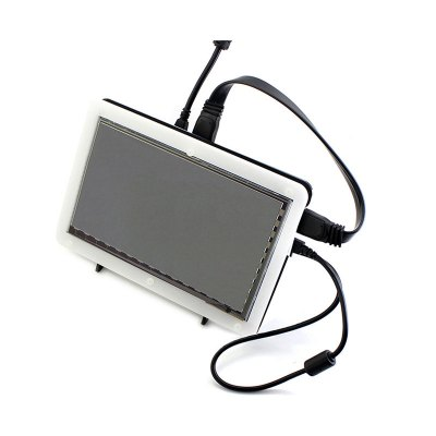 Waveshare 7 inch 1024 × 600 Pixels HDMI LCD Module Touch Screen with Case