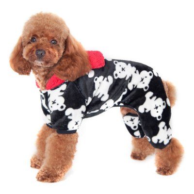 Four Feet Pet Dog Coral Fleece ClothesDog Clothing &amp; Shoes<br>Four Feet Pet Dog Coral Fleece Clothes<br><br>For: Dogs<br>Type: Cloth<br>Material: Coral Fleece, Coral Fleece<br>Size: L, XL, XXL, S, M<br>Color: Gray, Black, Pink<br>Product weight   : 0.110 kg<br>Package weight   : 0.170 kg<br>Package size (L x W x H)  : 24 x 13 x 6.5 cm / 9.43 x 5.11 x 2.55 inches<br>Package Contents: 1 x Pet Dog Cloth