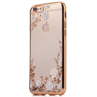 ФОТО Flower Pattern Protective Back Case for iPhone 6 / 6S