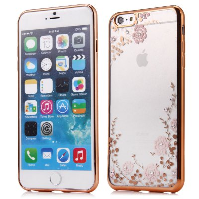Flower Pattern Protective Case for iPhone 6 Plus / 6S Plus
