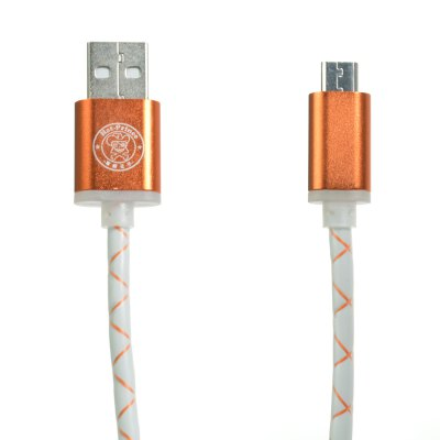 Hat-Prince 1m Micro USB Data Sync Charge Cable Stripe Style