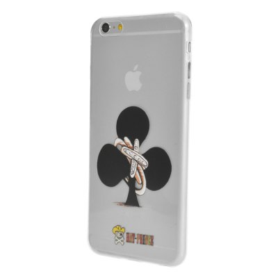 Hat-Prince Protective Soft Case for iPhone 6 / 6S PlusiPhone Cases/Covers<br>Hat-Prince Protective Soft Case for iPhone 6 / 6S Plus<br><br>Compatible for Apple: iPhone 6 Plus, iPhone 6S Plus<br>Features: Back Cover<br>Material: TPU<br>Style: Pattern, Cartoon<br>Color: Assorted Colors<br>Product weight : 0.013 kg<br>Package weight : 0.070 kg<br>Product size (L x W x H): 16 x 8 x 0.9 cm / 6.29 x 3.14 x 0.35 inches<br>Package size (L x W x H) : 18 x 8.5 x 2 cm / 7.07 x 3.34 x 0.79 inches<br>Package contents: 1 x Back Case