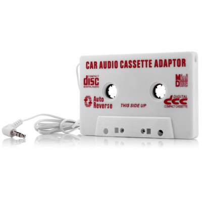 Transmitter Car Cassette Adapter for MP3 / CD / DVD Player