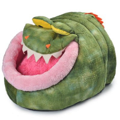 Lovely Crocodile Style Washable Soft Kennel
