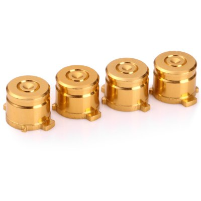 4PCS 9mm Metal Bullet Button for PS4 Controller Gamepad