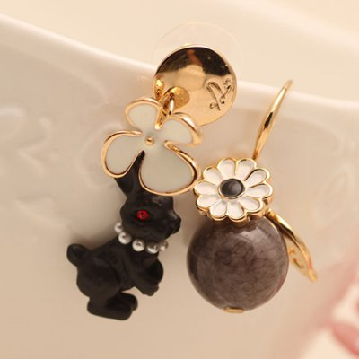 Pair of Sweet Round Bead Rabbit Shape Earrings For WomenEarrings<br>Pair of Sweet Round Bead Rabbit Shape Earrings For Women<br><br>Earring Type: Drop Earrings<br>Gender: For Women<br>Style: Trendy<br>Shape/Pattern: Animal<br>Weight: 0.090KG<br>Package Contents: 1 x Earring(Pair)