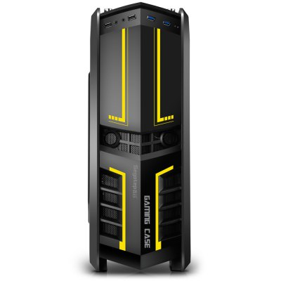 Segotep Chariot TF Mid Tower Gaming Computer Case Support ATX M-ATX ITX Motherboard