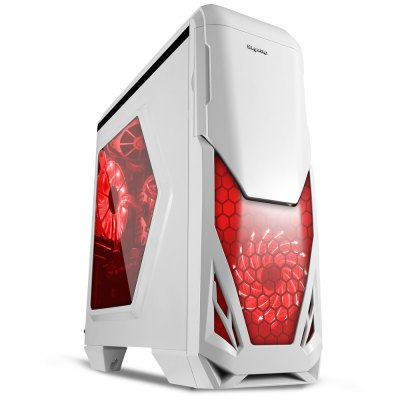 Segotep Blade Mid Tower Gaming Computer Case Support ATX M-ATX ITX Motherboard