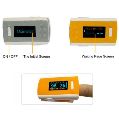 Digital Fingertip Pulse OximeterMonitoring &amp; Testing<br>Digital Fingertip Pulse Oximeter<br><br>Type: Fingertip Pulse Oximeter<br>Voltage: 2.6 - 3.6V<br>Product weight: 0.070 kg<br>Package weight: 0.120 kg<br>Product size (L x W x H): 3.50 x 5.80 x 3.00 cm / 1.38 x 2.28 x 1.18 inches<br>Package size (L x W x H): 9.00 x 7.00 x 6.00 cm / 3.54 x 2.76 x 2.36 inches<br>Package Contents: 1 x Fingertip Pulse Oximeter, 1 x Lanyard, 1 x English User Manual
