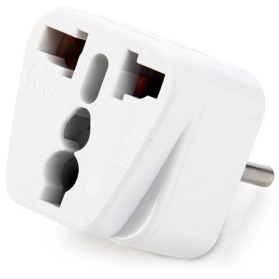 WD-12 5PCS Italy Plug to Universal Socket Adapter