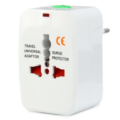 1PCS UA931LCB Universal Travel Adapter Power Plug ConverterPlugs &amp; Sockets<br>1PCS UA931LCB Universal Travel Adapter Power Plug Converter<br><br>Model  : UA931LCB<br>Material  : ABS<br>Color  : White<br>Identification : CE<br>Product weight   : 0.085 kg<br>Package weight   : 0.125 kg<br>Product size (L x W x H)  : 7.5 x 4.7 x 4 cm / 2.95 x 1.85 x 1.57 inches<br>Package size (L x W x H)  : 15.5 x 9.5 x 5 cm / 6.09 x 3.73 x 1.97 inches<br>Package contents: 1 x UA931LCB Universal Travel Adapter Power Plug Converter, 1 x Bag, 1 x Bilingual Manual in English and Chinese