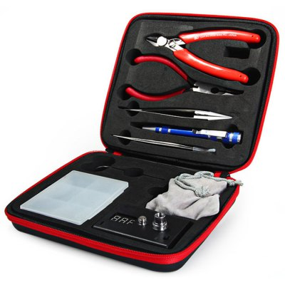 One Set E-Cig DIY Atomizer Coil Tools Kit with Coil Master Case