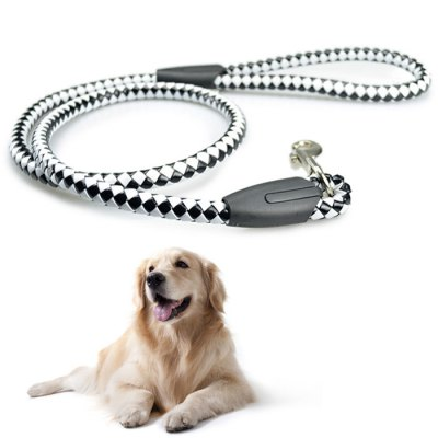 110m Knitted Style Adjustable PU Dog Leash