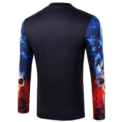 Casual Pullover Skull Star 3D Printing Long Sleeve Sweatshirt For MenMens Hoodies &amp; Sweatshirts<br>Casual Pullover Skull Star 3D Printing Long Sleeve Sweatshirt For Men<br><br>Material: Cotton Blends<br>Clothing Length: Regular<br>Sleeve Length: Full<br>Style: Casual<br>Weight: 0.246KG<br>Package Contents: 1 x Sweatshirt