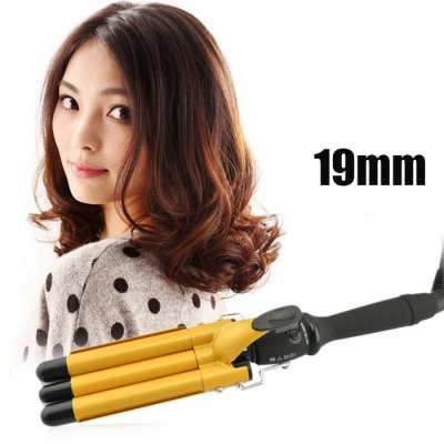 Egg Roll Style Electric Hair Curling Wand