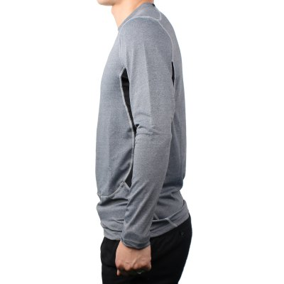 PRO Male Sport Tight Training Long Sleeve ShirtWeight Lifting Clothes<br>PRO Male Sport Tight Training Long Sleeve Shirt<br><br>Types: Long Sleeves<br>Size: XL, 2XL, M, S, L<br>Features: Quick Dry, High Elasticity<br>Gender: Men<br>Material: Spandex, Polyester<br>Color: Blue, White, Gray, Black<br>Product Weight: 0.194 kg<br>Package Weight: 0.274 kg<br>Product Size: 65 x 37 x 0.5 cm / 25.55 x 14.54 x 0.20 inches<br>Package Size: 26 x 18 x 9.0 cm / 10.22 x 7.07 x 3.54 inches<br>Package Content: 1 x PRO Male Sport Long Sleeve Shirt