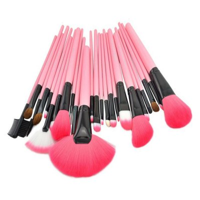 24PCS Goat Hair Makeup Brush