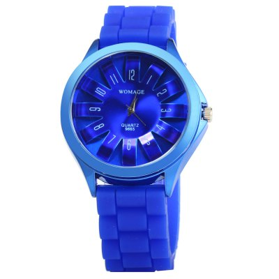 Womage 9665 Candy Colors Ladies Quartz WatchWomens Watches<br>Womage 9665 Candy Colors Ladies Quartz Watch<br><br>Brand: WoMaGe<br>Watches categories: Female table<br>Available color: Blue, Brown, Yellow, Pink<br>Style: Fashion&amp;Casual<br>Movement type: Quartz watch<br>Shape of the dial: Round<br>Display type: Analog<br>Case material: Stainless steel<br>Band material: Rubber<br>Clasp type: Pin buckle<br>The dial thickness: 1.0 cm / 0.39 inches<br>The dial diameter: 4.0 cm / 1.57 inches<br>The band width: 2.0 cm / 0.79 inches<br>Wearable length: 16.5 - 20.5 cm / 6.50 - 8.07 inches<br>Product weight: 0.053 kg<br>Package weight: 0.103 kg<br>Product size (L x W x H) : 25 x 4 x 1 cm / 9.83 x 1.57 x 0.39 inches<br>Package size (L x W x H): 26 x 5 x 2 cm / 10.22 x 1.97 x 0.79 inches<br>Package contents: 1 x Womage 9665 Watch